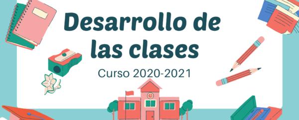 Desarrollo de las clases para este curso